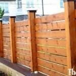 Несколько простых способов монтажа деревянных столбов и расценки на материалы