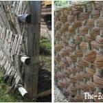 Забор из дерева «Плетенка» – креативное декоративное решение