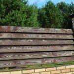 """Забор """"Жалюзи"""" – строим деревянную ограду с просветами своими руками"""