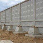 Забор из железобетонных плит – дешево и долговечно